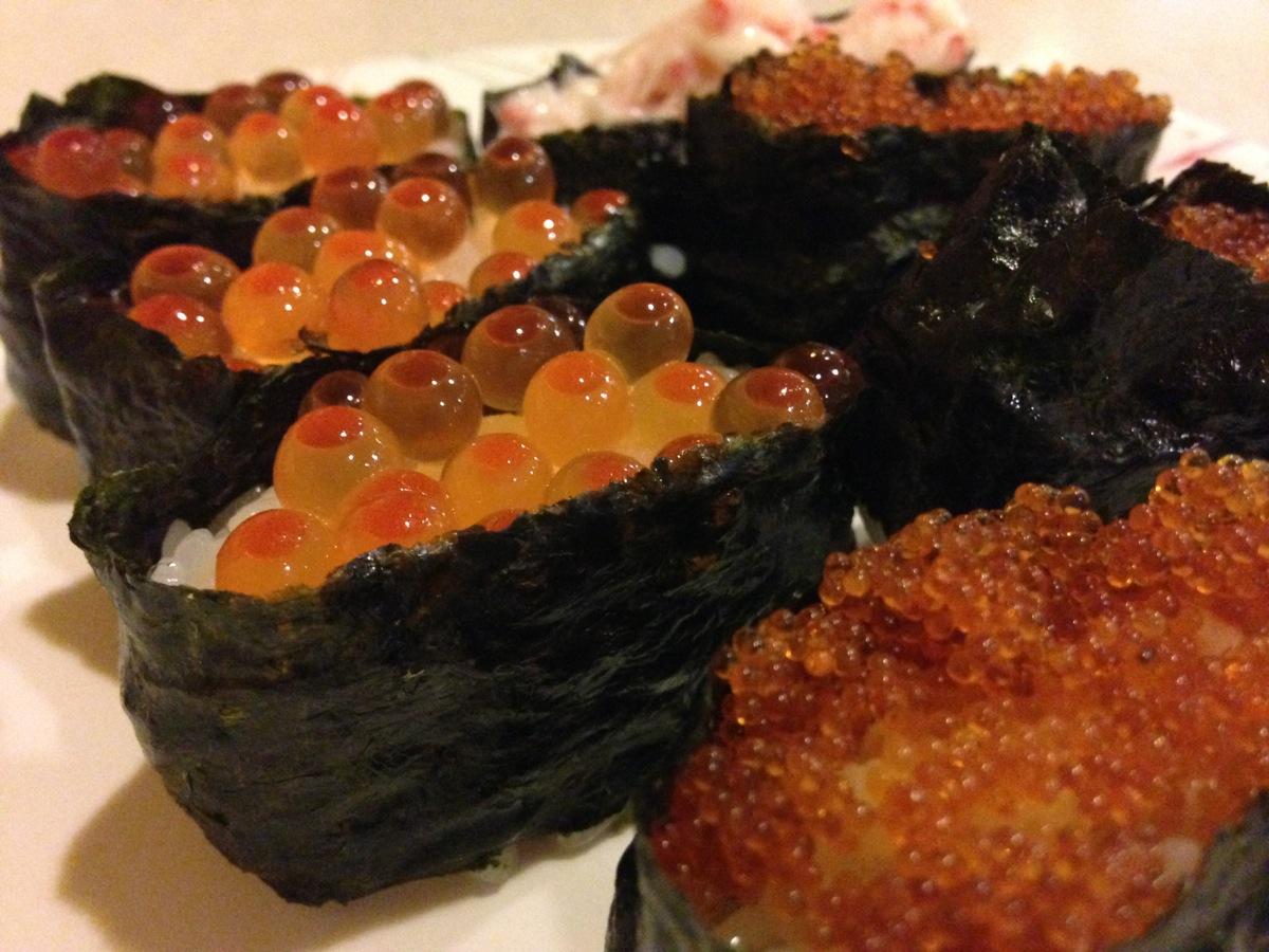 焼肉バイキング・ウエスタン平岸店の寿司