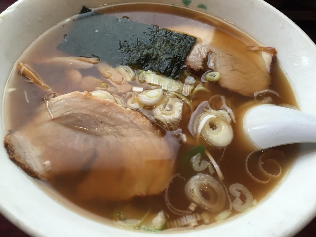 会津喜多方ラーメン蔵箱崎町店の喜多方ラーメン