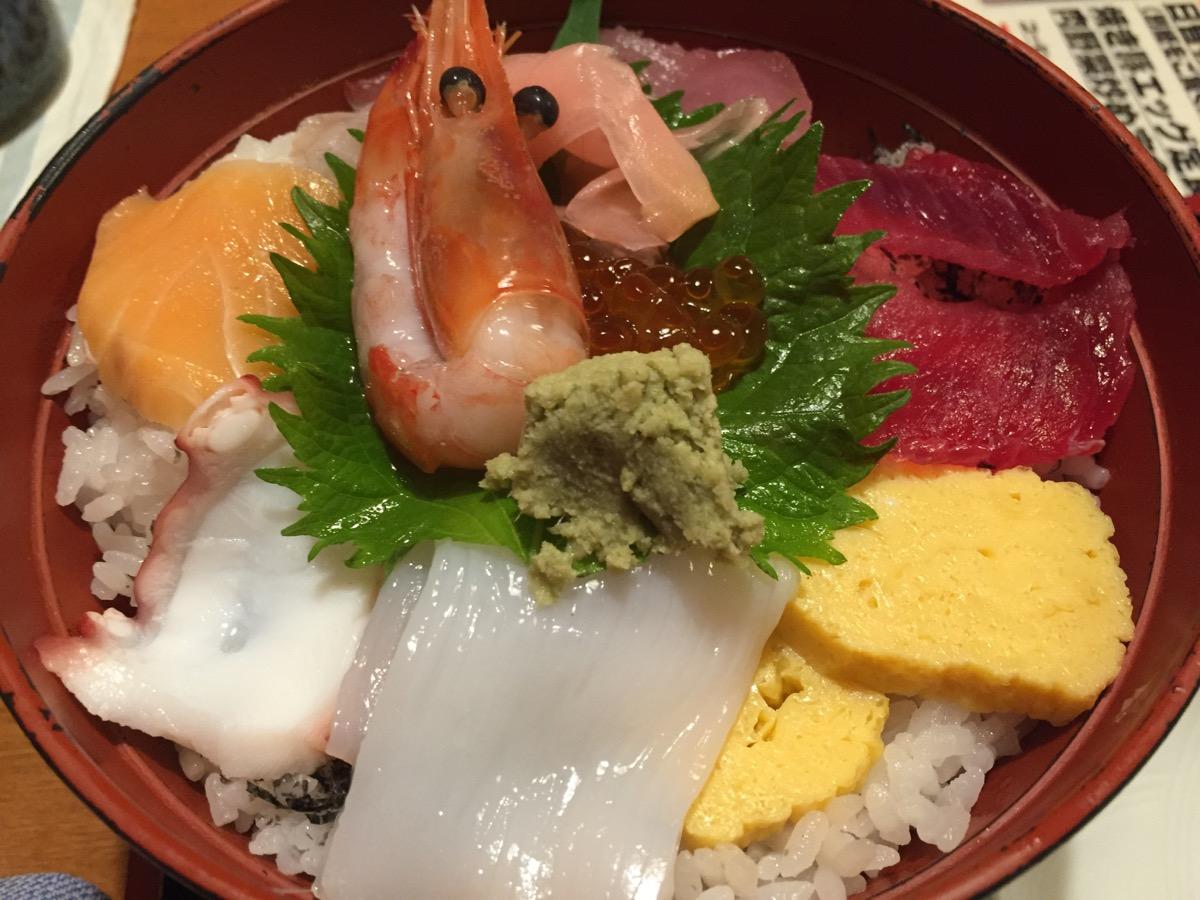 やるき茶屋大手町二丁目店の海鮮丼