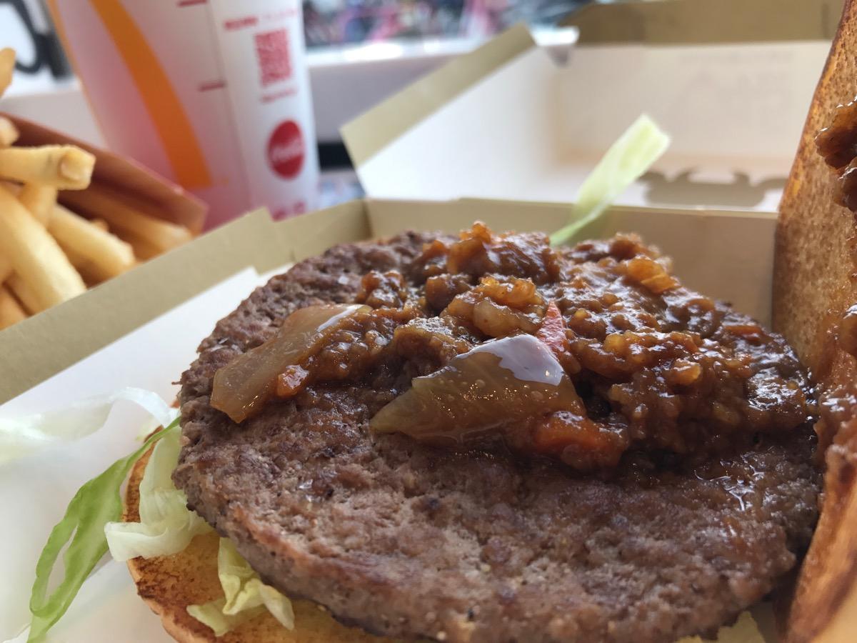 マクドナルド四つ木イトーヨーカドー店のかるびマックセット