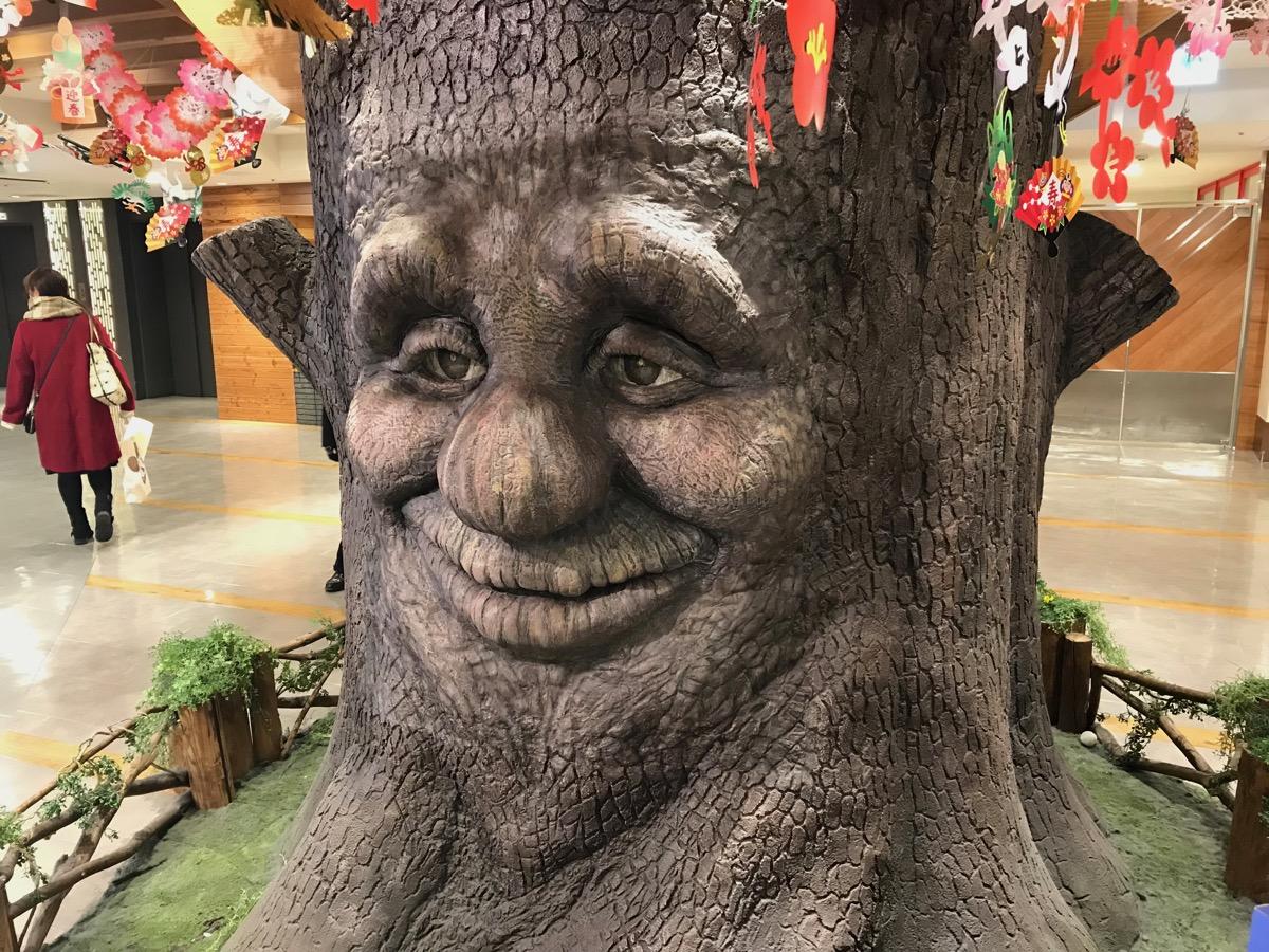 大宮ラクーンのしゃべる木