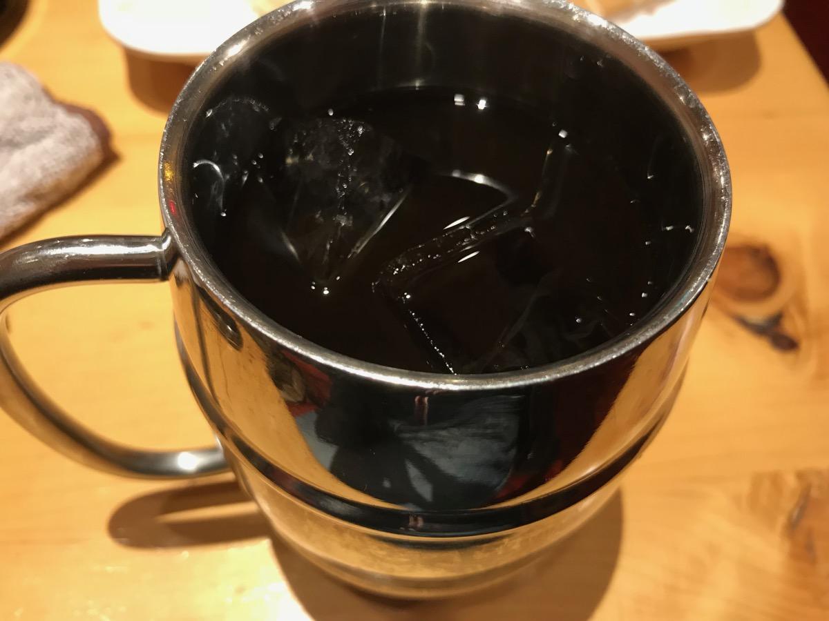 コメダ珈琲店浅草橋駅前店のたっぷりアイスコーヒー