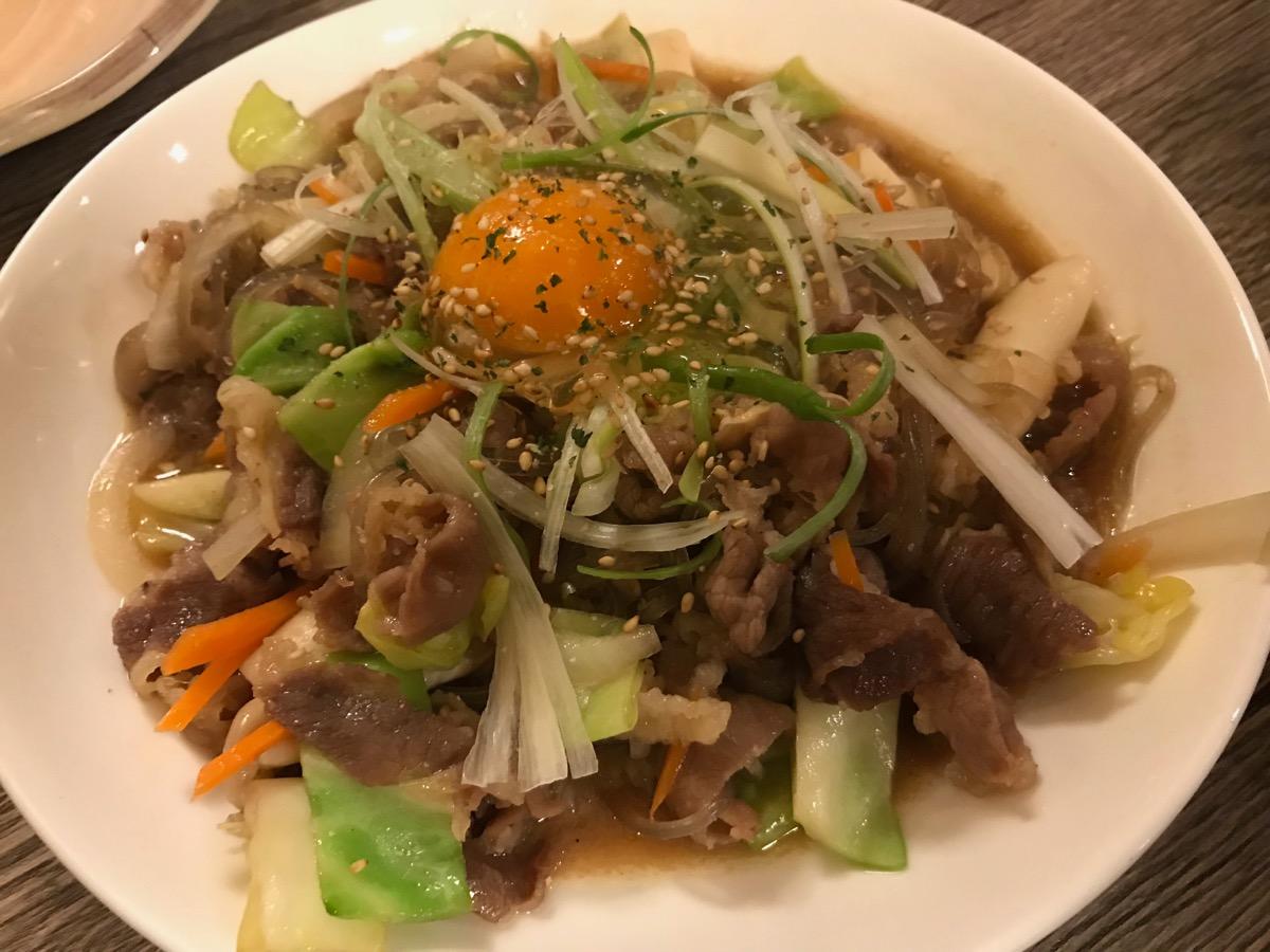 韓国料理サランバンのプルコギ