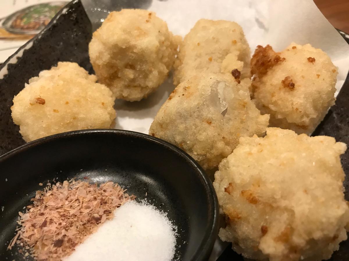 ミライザカ西船橋北口店の里芋の唐揚げ