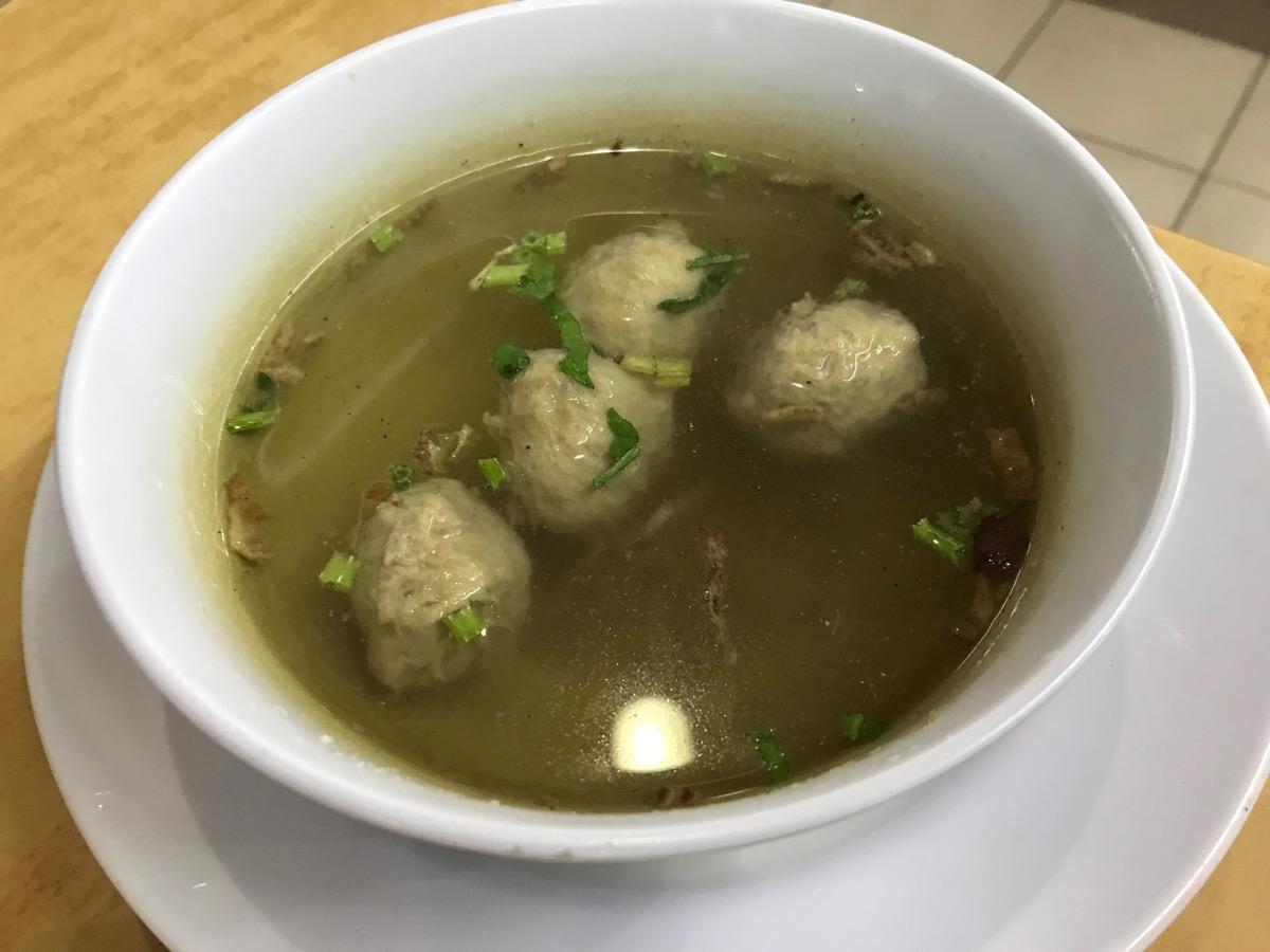 Restoran Sri Mawar RiaのBeef Ball Soup