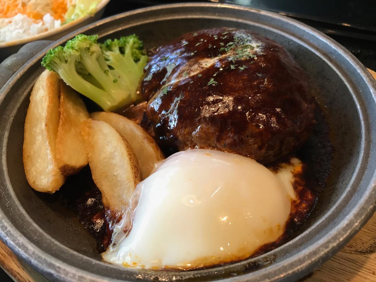 だん家東京オペラシティ店の煮込みハンバーグ定食
