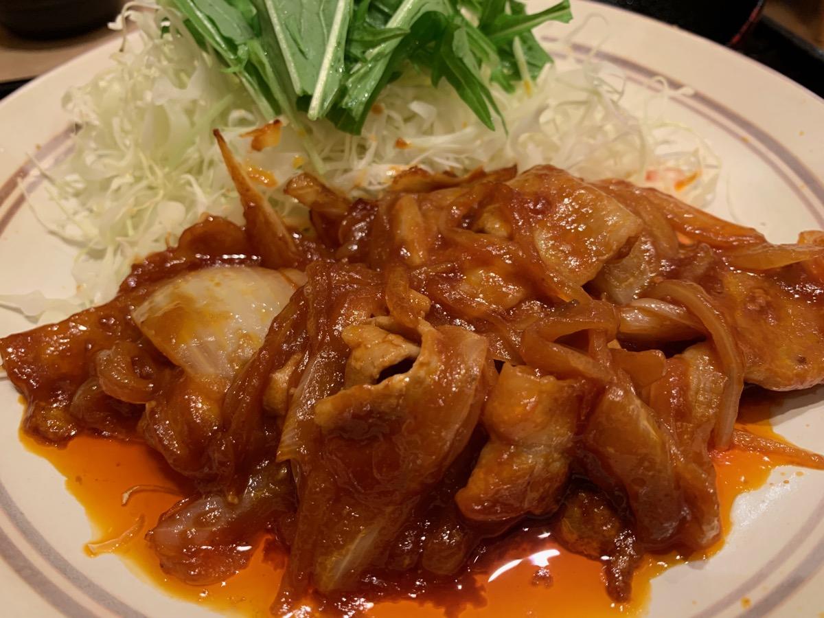 大戸屋ごはん処東京オペラシティ店のポークチャップ定食