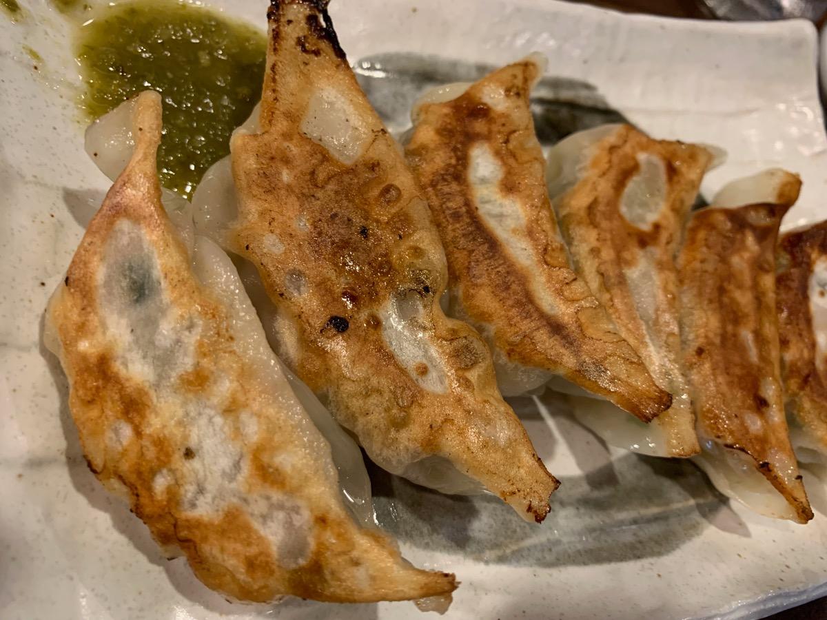 中華麺屋まんまるの餃子(6個)