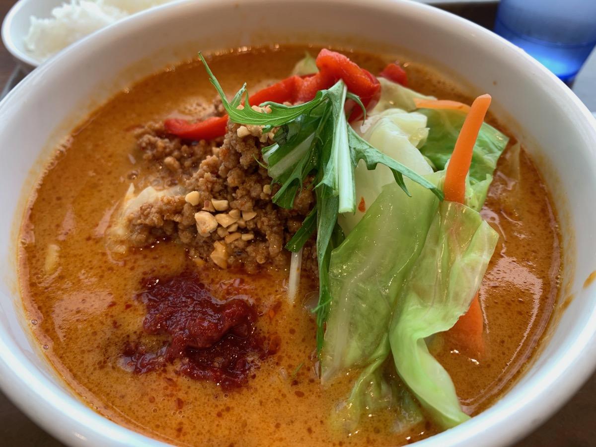 イーストキャラバン(福豊)の野菜担々麺