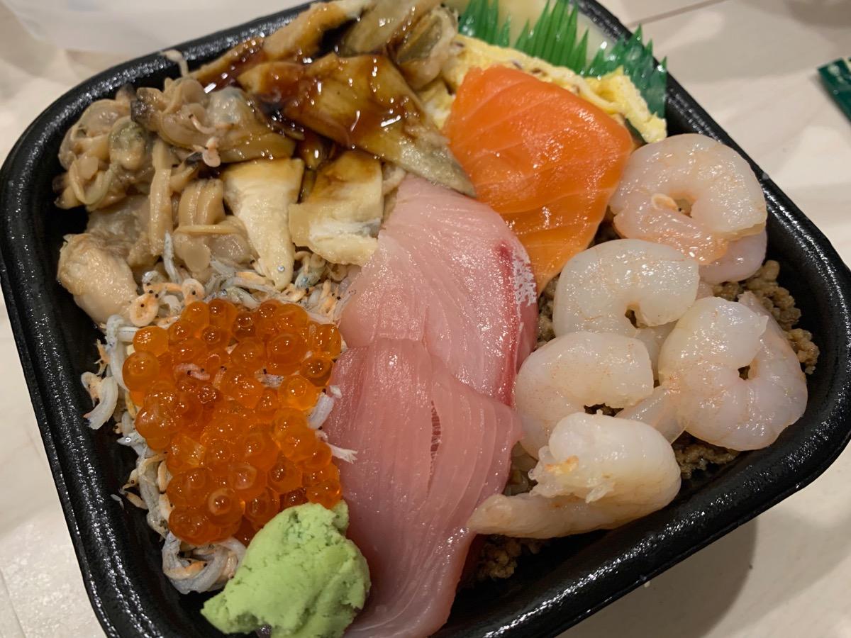 丼丸One笹舟四つ木店の笹舟丼
