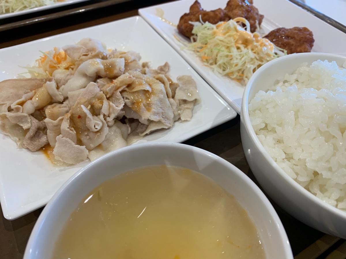 イーストキャラバン(上海キッチン)の彩華セット