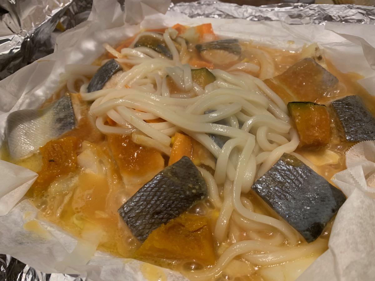 北海道新宿西口店の鮭のチャンチャン焼き