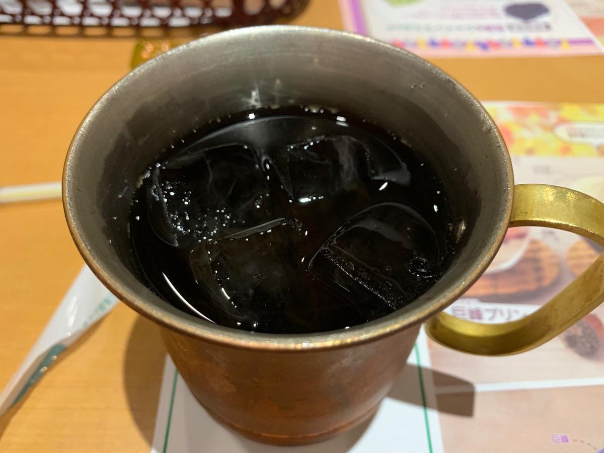 さわやか新静岡セノバ店のアイスコーヒー