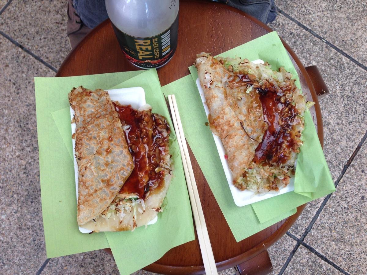 キャベ焼きグループ天満店のキャベツ焼き