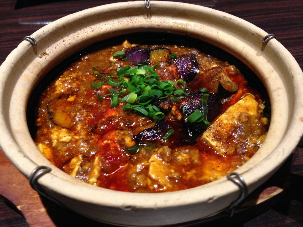 香香厨房PASEO店のカレー麻婆豆腐