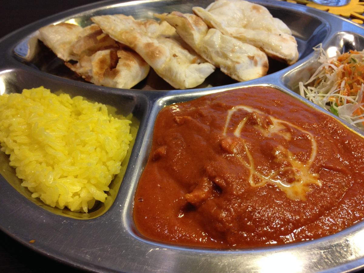ネパール・インド料理RaRaの平日ランチセット