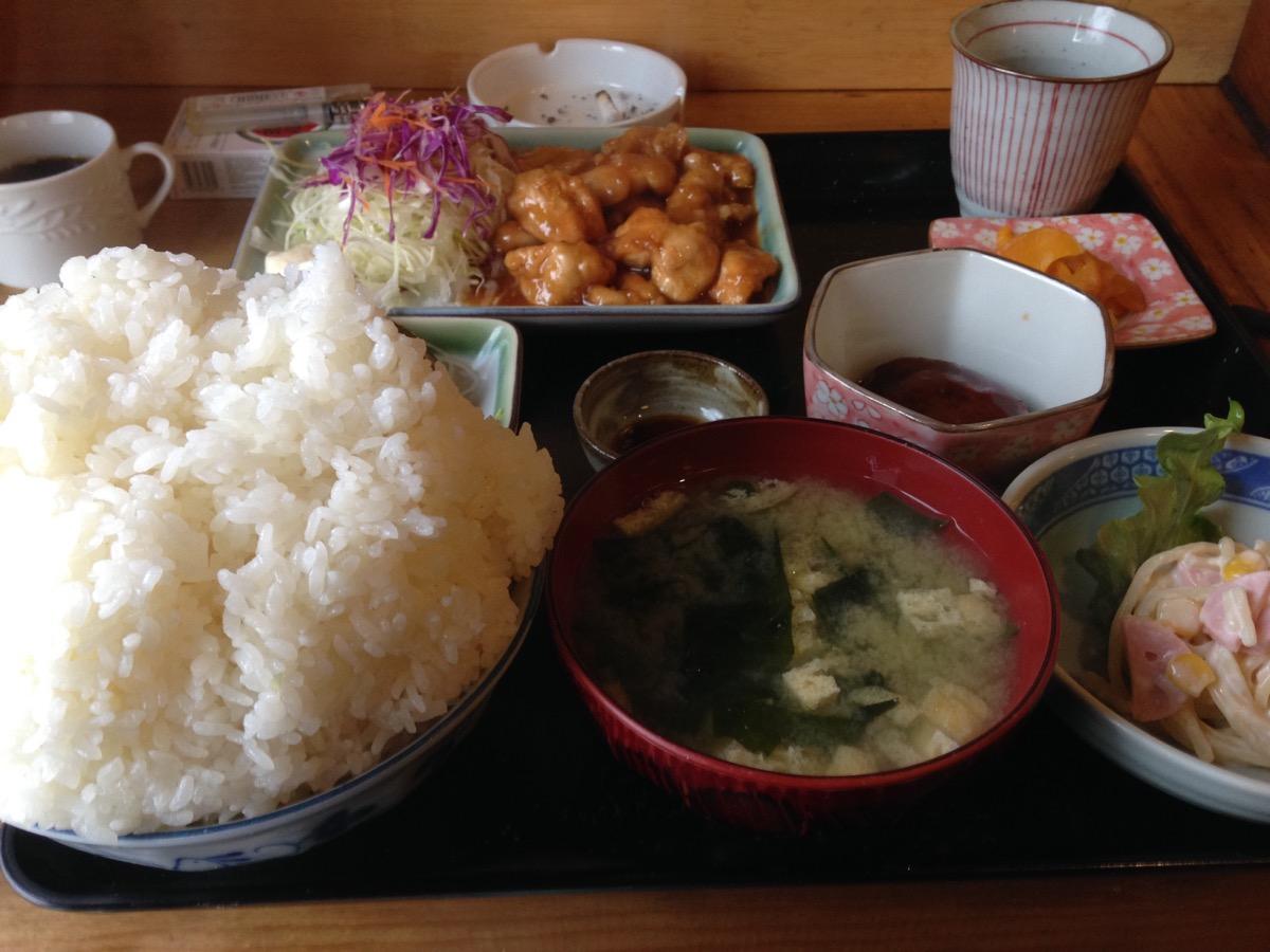 牛太郎のチキン照焼定食