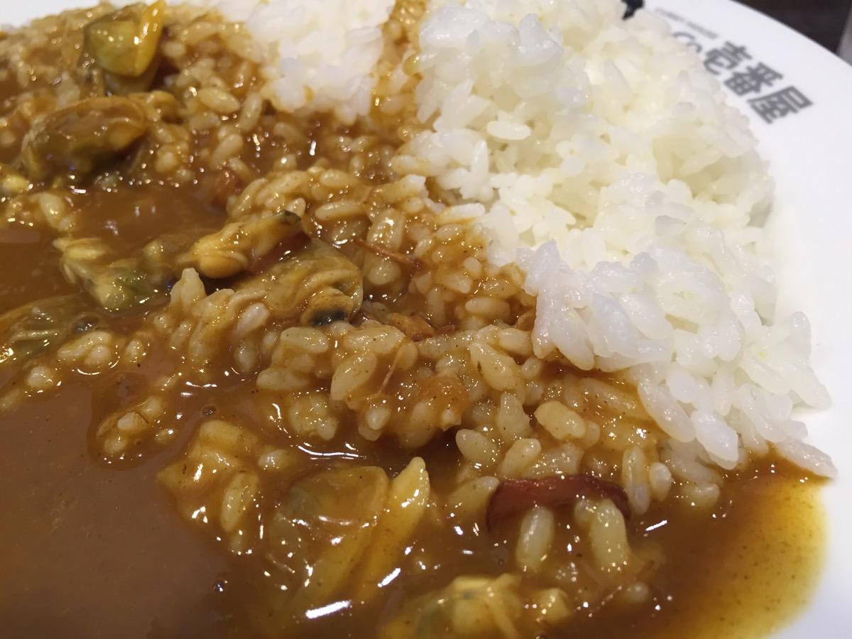 CoCo壱番屋JR西船橋駅北口店のたっぷりあさりカレー