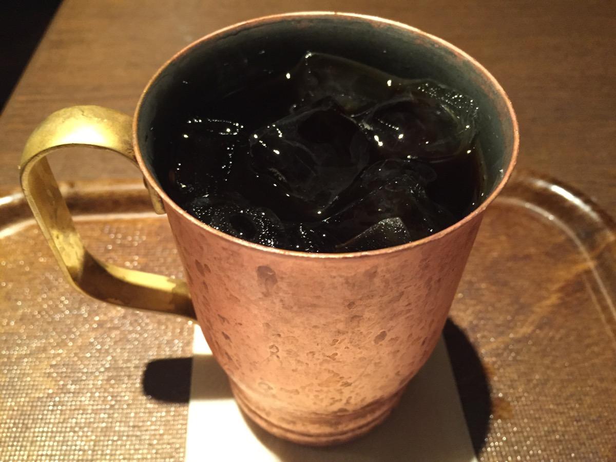 上島珈琲店イオン船橋店のアイスコーヒー