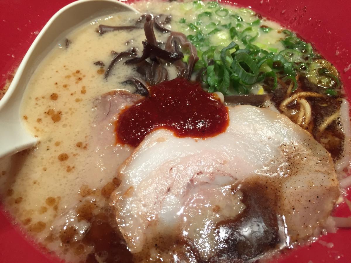 博多一風堂上野広小路店の赤丸新味