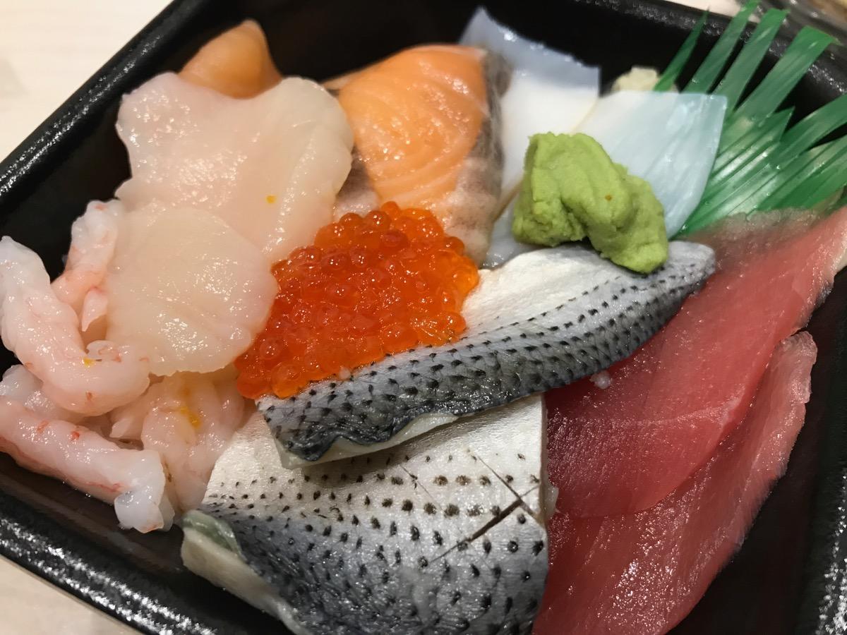 笹舟丼丸東四つ木店の海鮮丼