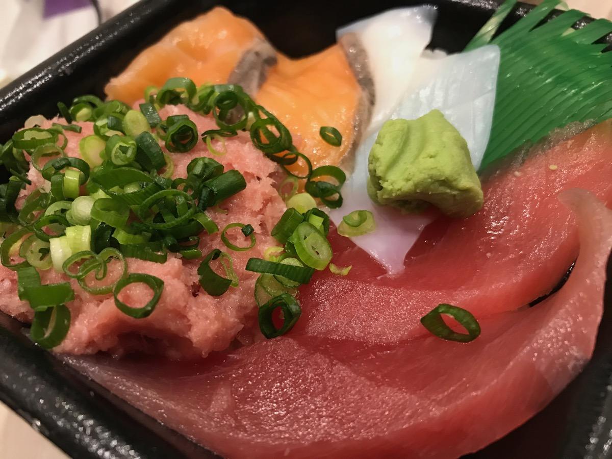 笹舟丼丸東四つ木店のどんまる丼