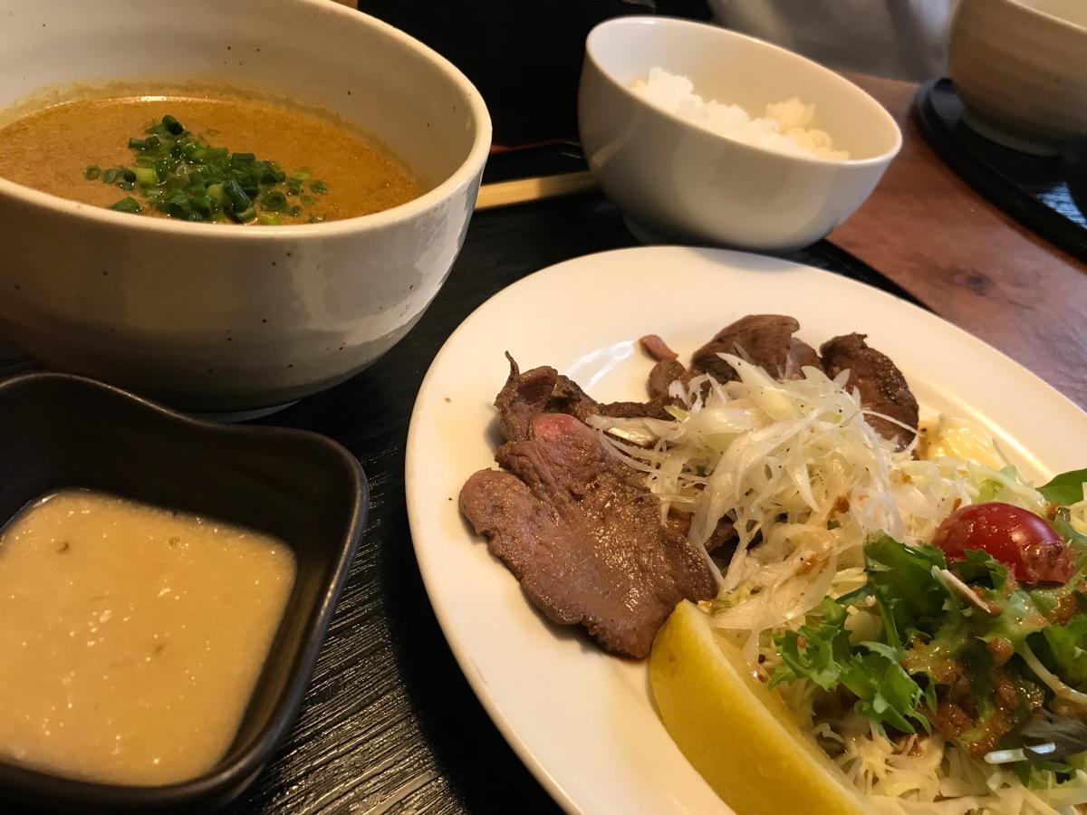 祇園亭の牛タン定食