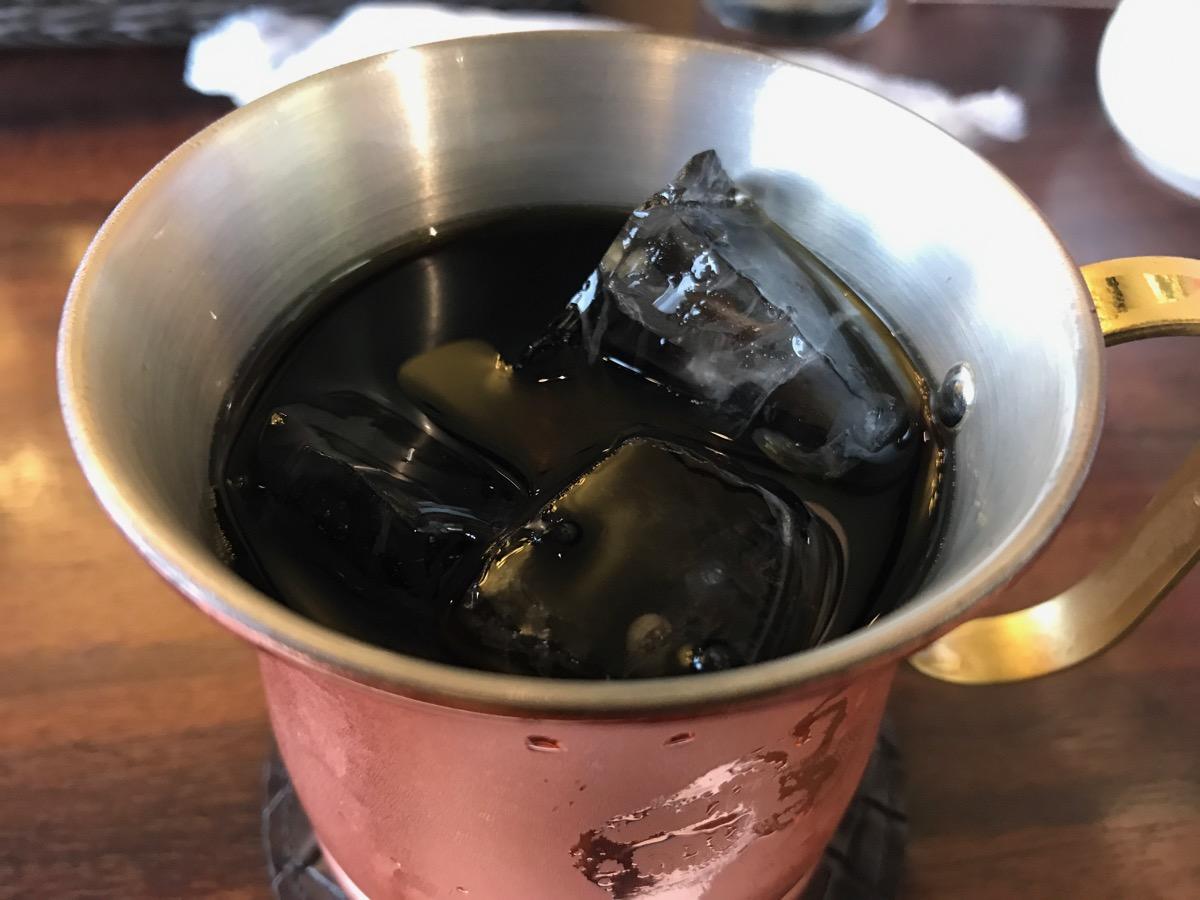 星乃珈琲店東武船橋店のアイスコーヒー