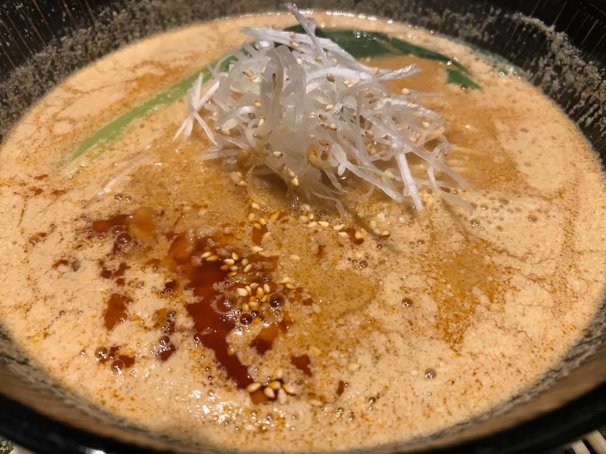 麺匠竹虎六本木店の胡麻味噌担々ラーメン