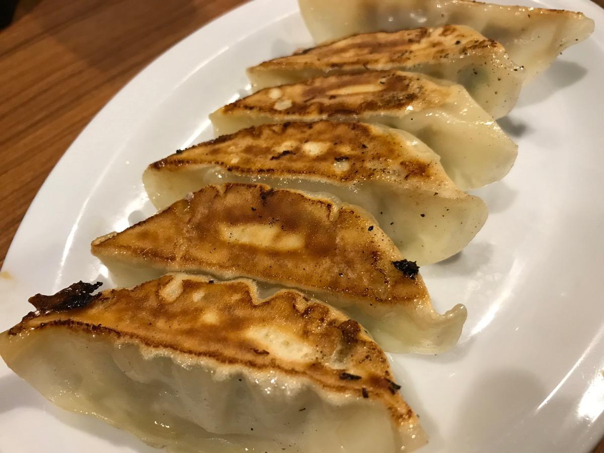 壱角屋西船橋店の肉汁餃子