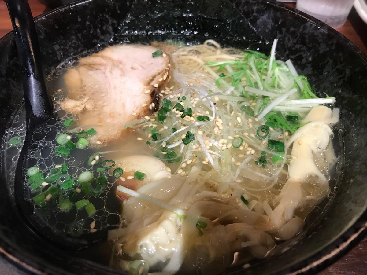 麺匠竹虎六本木店の極旨塩ラーメン