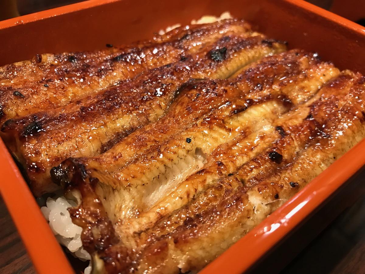うなぎ魚政のうな重(国産鰻(上))