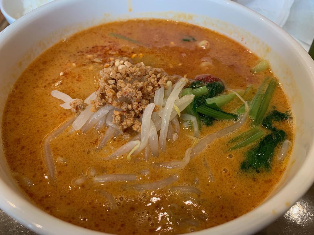 イーストキャラバン(福豊)の担々麺