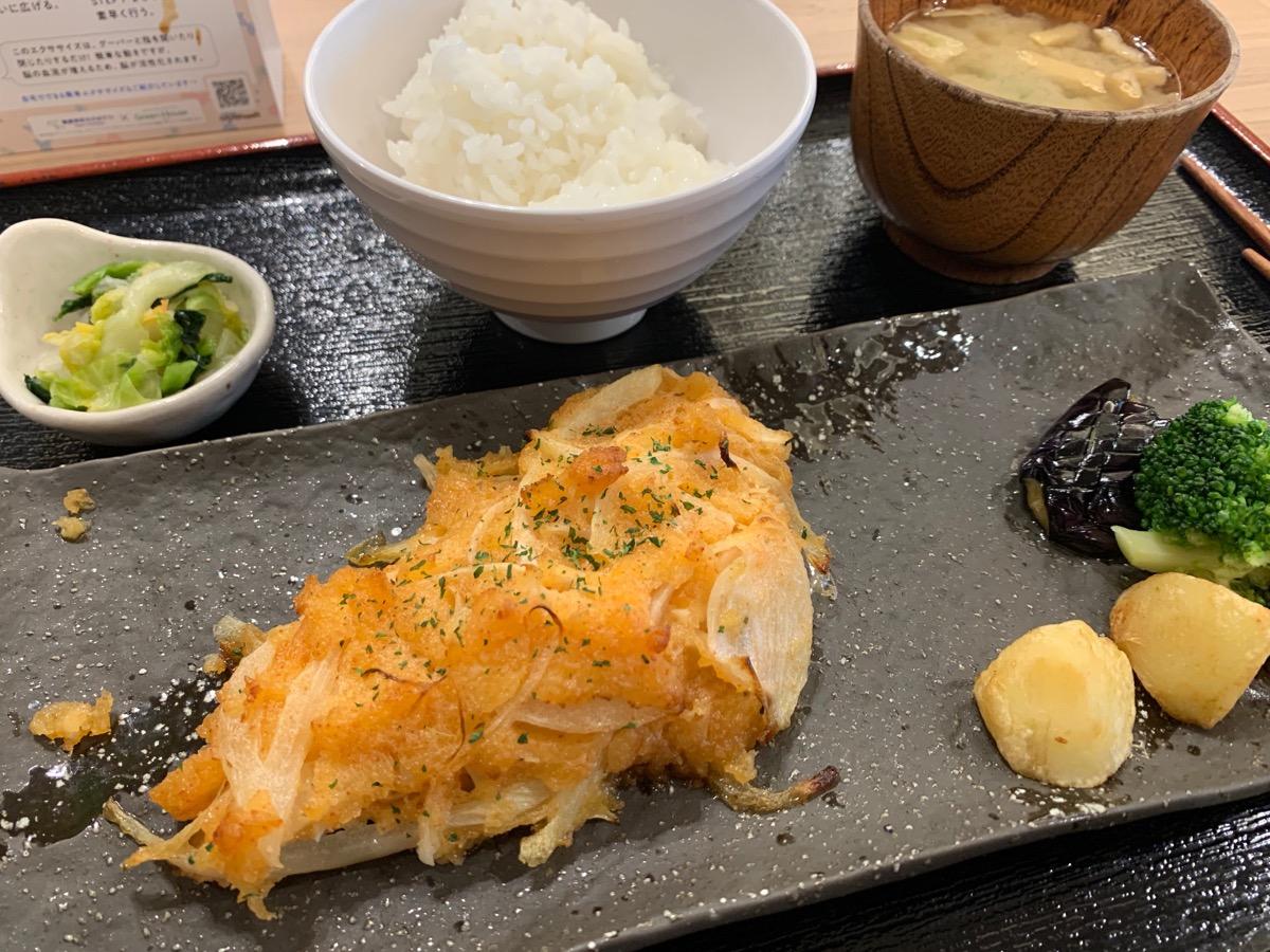 百跳の鮭の明太マヨネーズ焼き