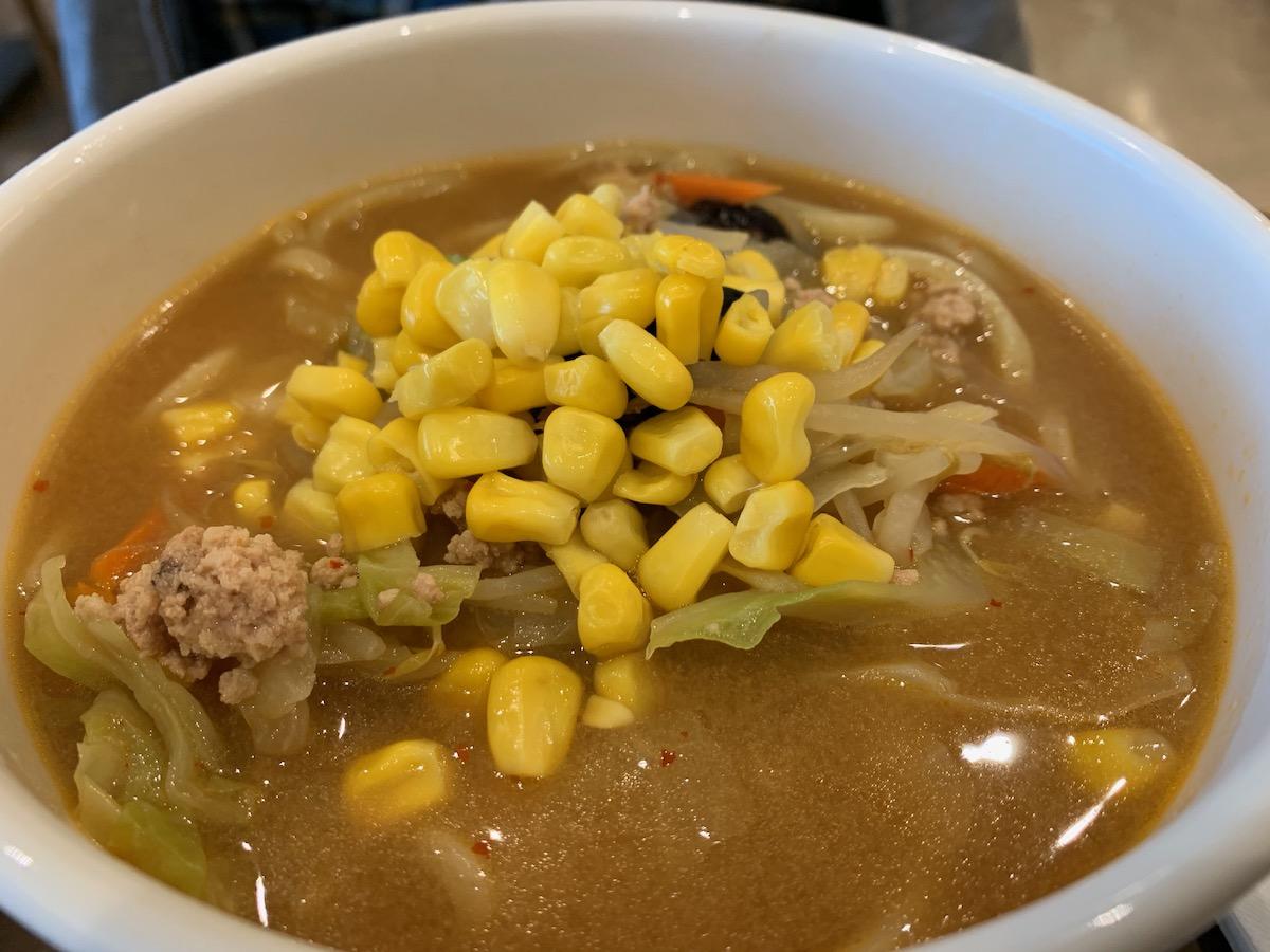イーストキャラバン(福豊)の味噌コーンラーメン