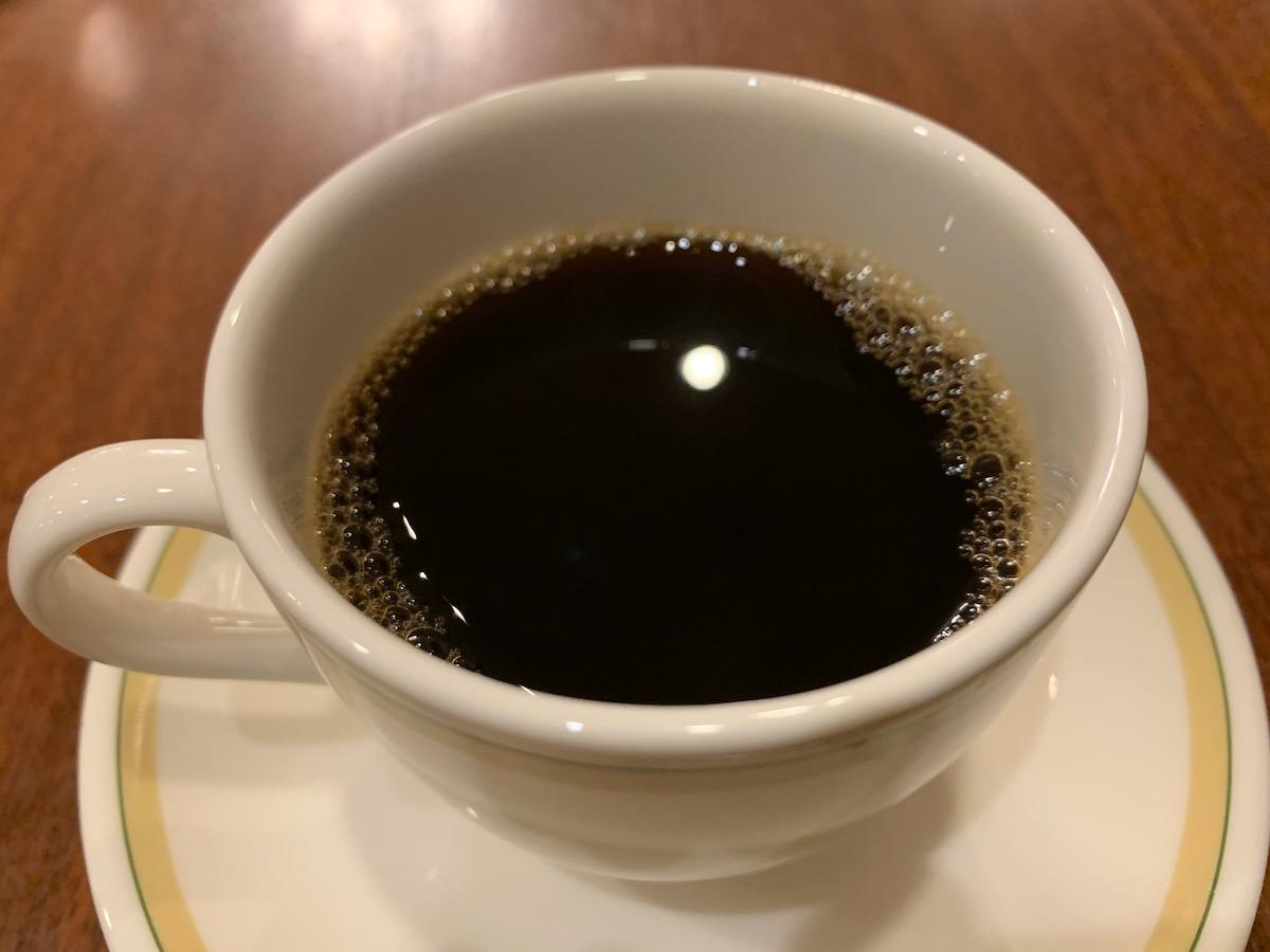 ロイヤルホスト立石店のコーヒー