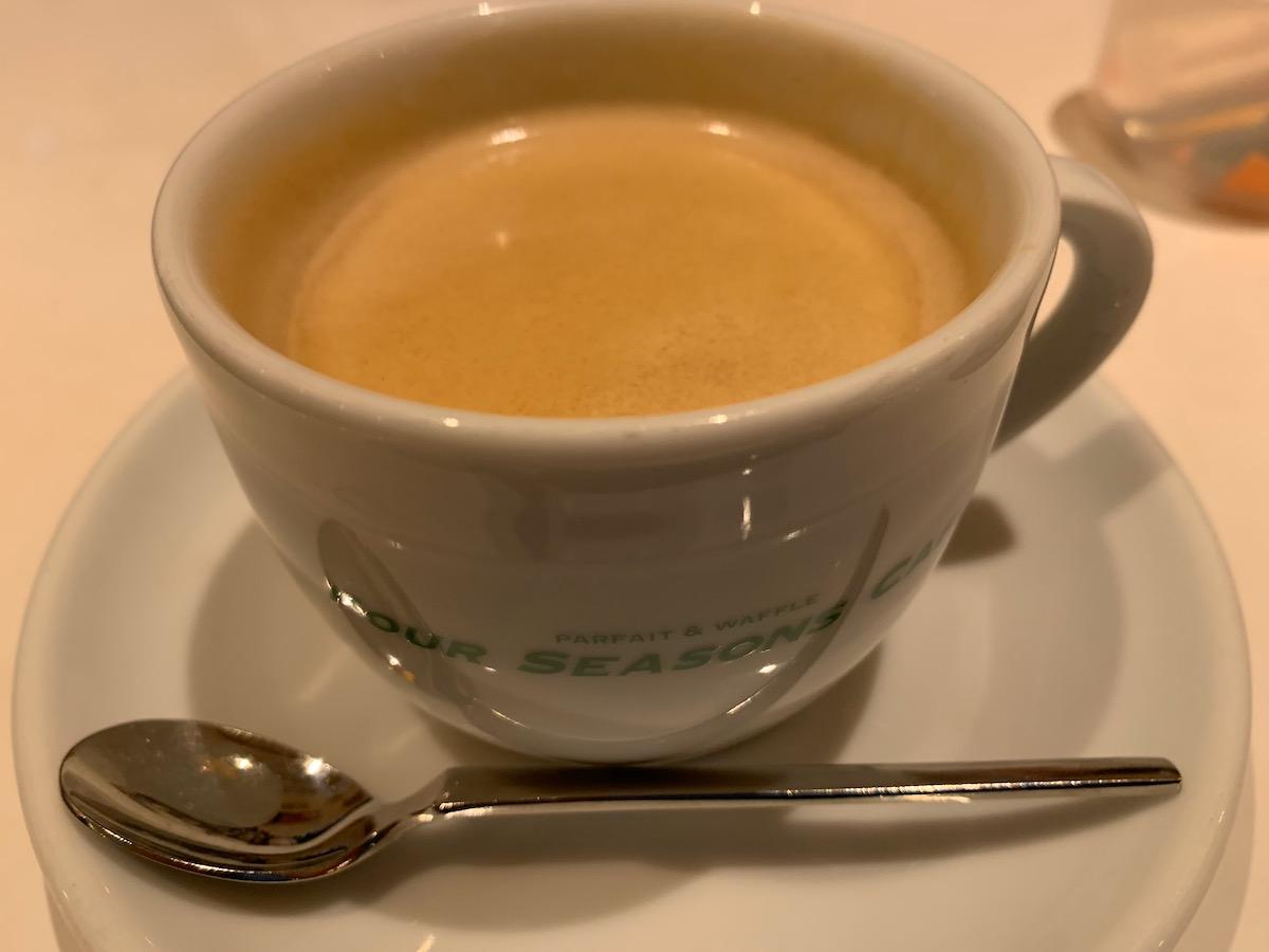 フォーシーズンズカフェ (FOUR SEASONS CAFE)のコーヒー